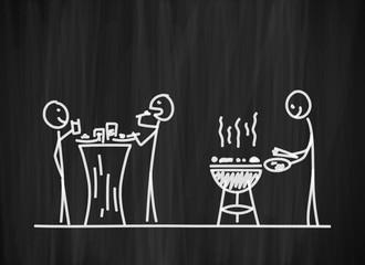 tafel mk grillparty I