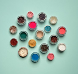 beautiful makeup pigments for eyes