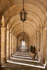 Cathedral of Santiago de Compostela arcades