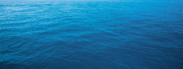 Printed roller blinds Ocean blue water sea for background