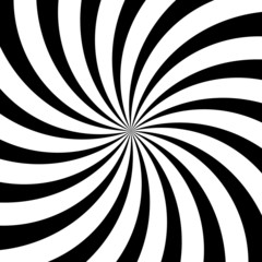 Vector illustration of abstract black and white background