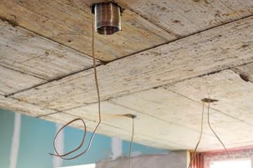 repair ceiling construction