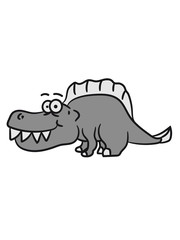 Funny little prickly Dino