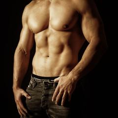 schöner Männerkörper
