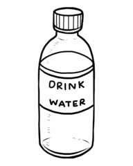 drink water bottle