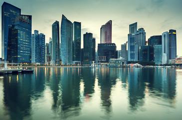 Fotomurales - Cityscape Singapore