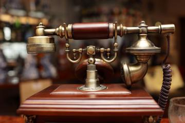 Vintage wired phone