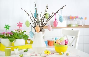 Obraz Wiosenne inspiracje - Wielkanoc - fototapety do salonu