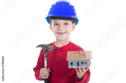 Bauarbeiter Werden