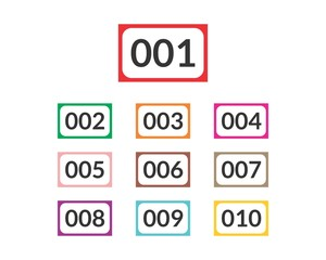 Number Table Vol. 2