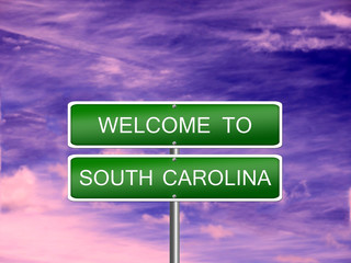 South Carolina State Sign