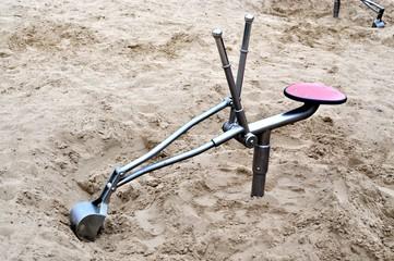 Bagger - Spielzeug für den Sandkasten