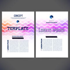Abstract vector template design, brochure,Web sites, page