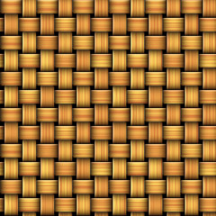 Seamless pattern resembling a wicker basket texture