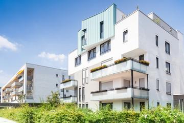 Neubau in Deutschland  - Mehrfamilienhaus