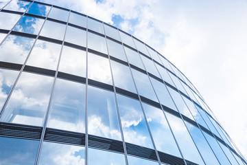 Hochhaus - modernes Gebäude - Spieglung Fototapete