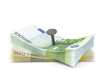 Geld sichern