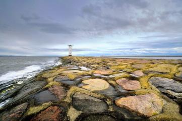 Morze, latarnia morska, Swinoujscie , Polska