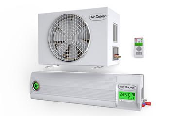 Air conditioner, climate control
