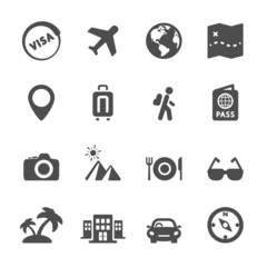 travel icon set 4, vector eps10