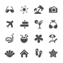 travel icon set 3, vector eps10