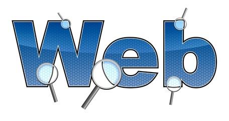 web - suchen mit lupen