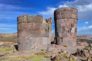tombs of Sillustani - Peru