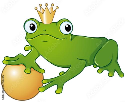 Der Froschkönig Ausmalbild Stockfotos Und Lizenzfreie