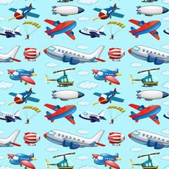 Seamless aircrafts