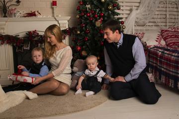 family and Christmas