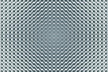 Fototapeta 背景素材壁紙,六角,六角形,正六角形,蜂の巣,ハニカム,ハニカム構造,立体,立体構造,3D,立体的 obraz
