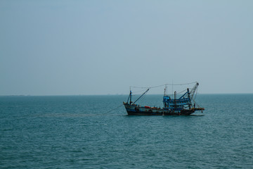 Fishing boats in Koh Chang Thailand