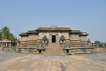 Chennakeshava Hindu Temple in Belur, India