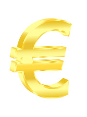 Euro sign. Vector illustration