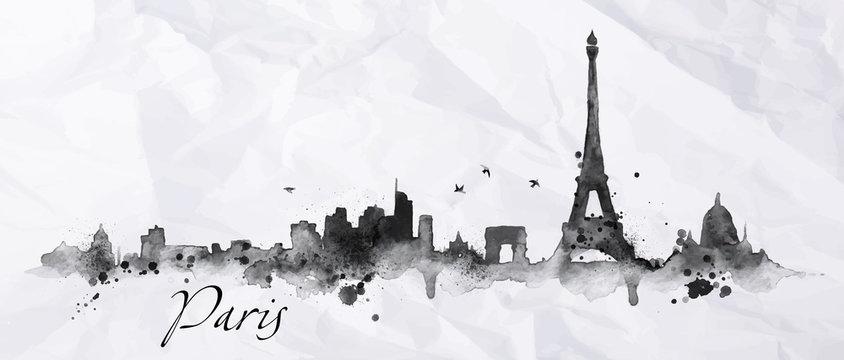 Silhouette ink Paris
