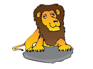 lion cartoon character