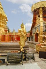 Wat Phrathat Doi Suthep, Chiang Mai. Tailandia.