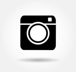Hipster camera photo