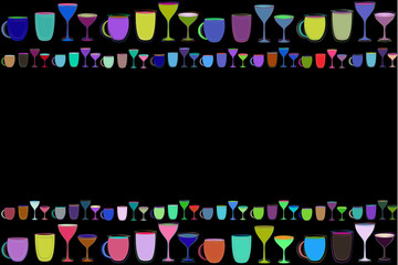 cocktail party cafe background