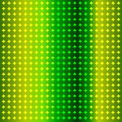 Фон из блестящих фигур с зелёным оттенком