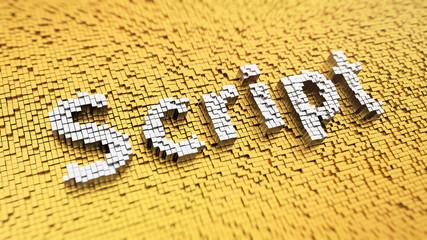 Pixelated Script