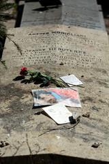 Amedeo Modigliani  grave in Pere-Lachaise,  Paris