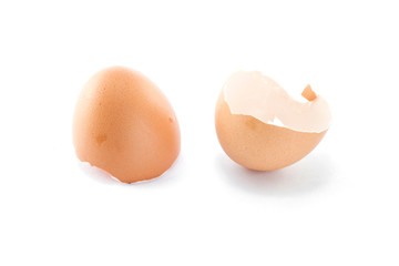 eggs shell isolated