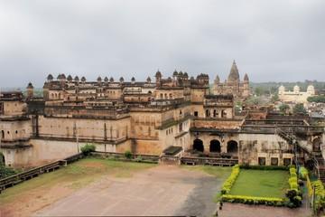 Jahangir Mahal maharaja palace, Orchha, India