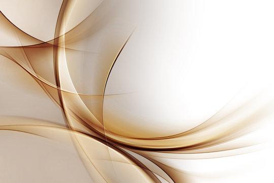 Elegant Gold Waves