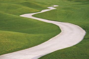 Türkei, Antalya, Blick auf LinksLykia Golfclub