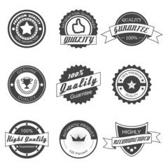 quality badges