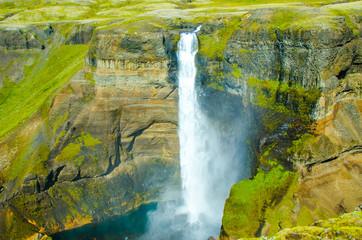 Haifoss - Waterfall in Iceland