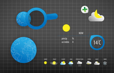 COLOR WEATHER VECTOR