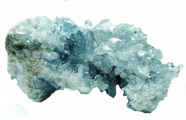 celestite geode geological crystals